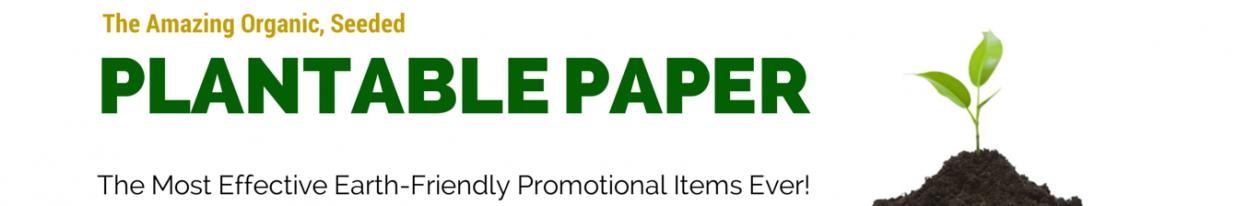 Organic | Plantable | Seeded | Paper | PlantableCards.com